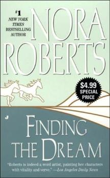 Finding the Dream cover. - The book that changed my life, 'Finding the Dream' by Nora Roberts.