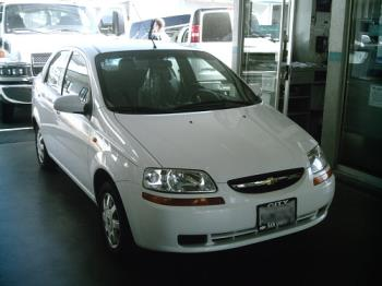 My 2004 Aveo - This is my Aveo which is white.