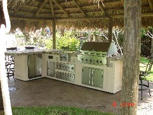 The Outdoor Kitchen - Cooking outdoors is not just bar-b-quing anymore.