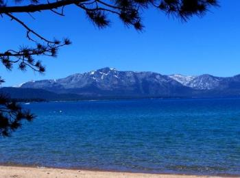 Lake Tahoe - Where I live - Lake Tahoe - high in the Sierras between Nevada and California.