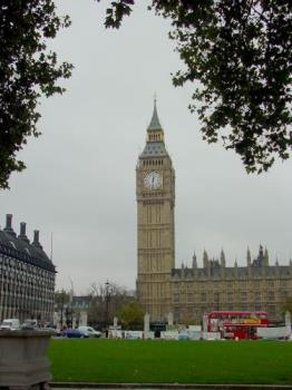 Big Ben - London England - London England - Big Ben, House of Parliament, Double-Decker buses and beautiful city parks.