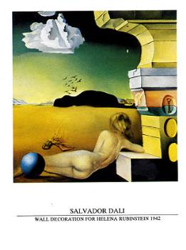 Wall Decoration - This is a picture of a wall decoration by Salvador Dali