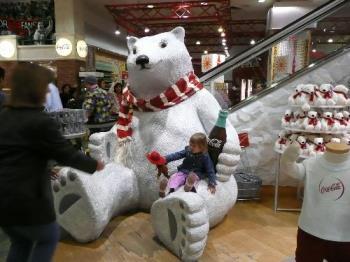 Chey and polar bear - polar bear and CHey
