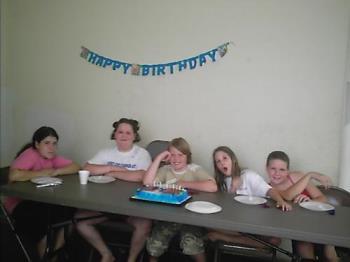My DD and her friends - Happy birthday #11