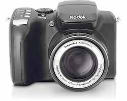 Kodak z712 - Kodak z712 with 12X Optical zoom lens by Schneider. Multiple formats plus including video. Takes SD memory cards. 8 MP hi-res capability.