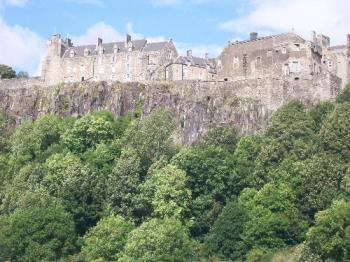 Stirling Castle - Stirling Castle from the north
