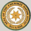 Cherokee Native Patch - Patch of the native american tribe of the Cherokee's.