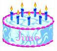 June Birthdays - birthdays in June
