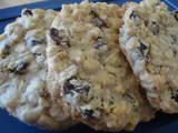 Oatmeal Cookies - Some oatmeal raisin cookies