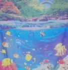 Fish Shower Curtain - Add a littl collar to the loo