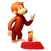 Curious George Bath Toys 71