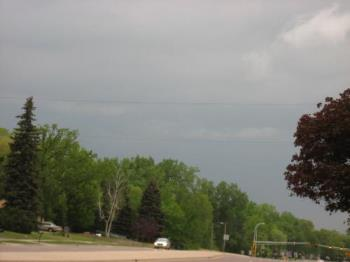 Small storm clouds - Doesn't look severe does it? A few funnel clouds and or tornadoes developed from these