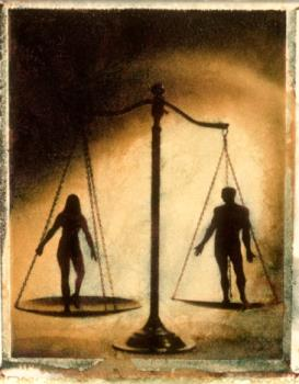 man and woman - Are man and woman equal?