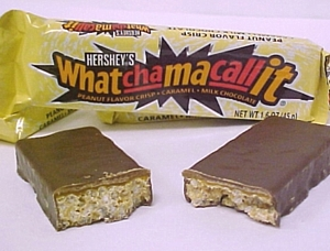 Yummy whatchamacallit bar! - Doesn't this look delicious! Cruchy chocolatey taste with a hint of caramel!