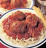 Spaghetti and Meatball - A great plate of food