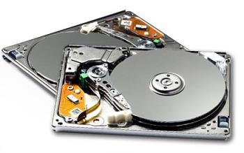 1.8 Hard DiskDrive - Internals of a 1.8 form factor hard disk drives.