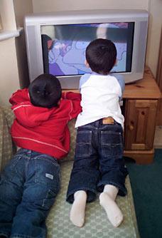 Watching TV - Watching TV...