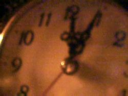 ~*~ - Photograph of clock..
