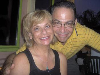 Me and my husband - This was taken on vacation two years ago in North Carolina.