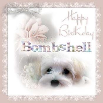 bombshell birthday - Happy birthday Bombshell