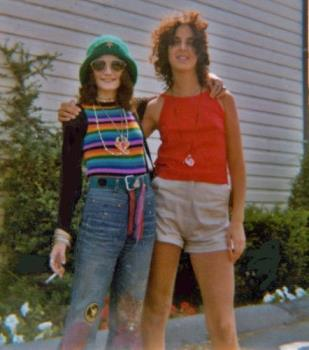 Photo Of Me In My Rebel Hippie Years - image of me during high school