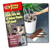 sticky paws - to keep cats out! or off!