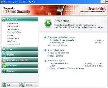 Kaspersky - The kaspersky on my machine