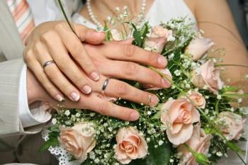 Marriage - Well its two and two hands becoming four after marriage.