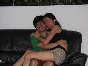 my bestfriend & me - the bonding days.,way back when we were in singapore.,miss the old days.,