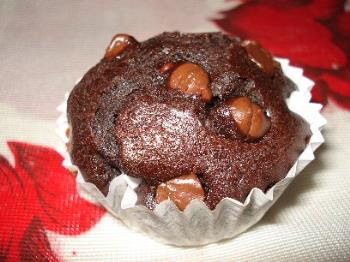 My Chocolate Chocolate Chip Muffin - A picture to go with the recipe posted. 