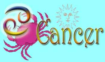 """Cancer"" symbol - picture of the symbol for the astrological sign Cancer"