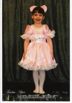 My daughter, april 2007 - My daughter's ballet pic, 2007