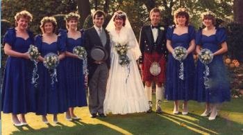 The P1ke's Wedding. - Our wedding in 1986