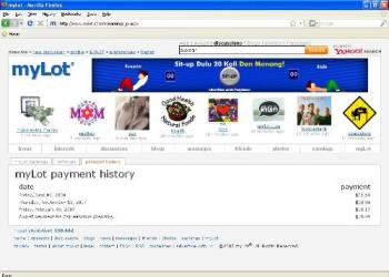 My payment history at mylot - My payment history at mylot dian