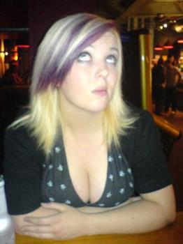 What a beautiful lady - The infamous myspace photo