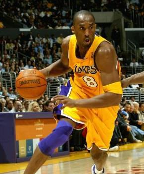 kobe - kobe bryant going for a dunk