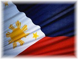 philippine flag - flag of the republic of the philippines