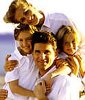 family of 4, meeting your goals - financial goals and freedom is not far away, family of four happy and together!