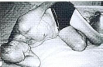 sleeping posture.. - A Sickle's Compass?