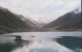 lake saif ul malook, naran, Pakistan - lake safe ul maklook 10,000 feet above sea level surrounded by peak