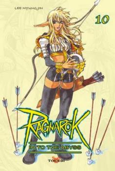 Ragnarök Into the Abyss Volume 10 - Ragnarök is a manhwa created by Myung Jin Lee and distributed by Tokyopop in North America, and by Chuangyi in Singapore. There are currently 10 volumes in circulation, published in English in North America by TOKYOPOP from May 21, 2002 to April 6, 2004. The manhwa is also published in English in Singapore by Chuang Yi.