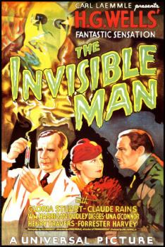 The Invisible Man - The Invisible Man is written by H.G.Wells