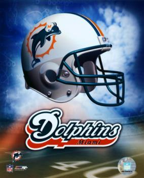 Miami Dolphins - Since I live down here I might as well root for the home team!