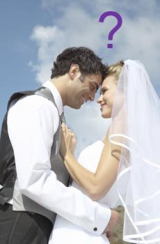 Marriage - Couple in love - Wedding