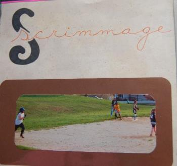 scrimmage game - simple journaling is sometimes all that is needed