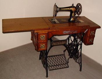Image of the type of sewing machine my great-grand - This is the type of machine my great grandmother had