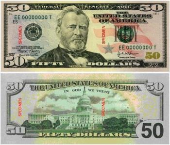 fifty dollar bill - fifty dollar bill, lucky or unlucky??
