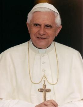 Pope Benedict xvi - Pope Benedict xvi is the leader of the catholic church