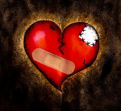 Broken Heart!!! - Sometimes having your heart broken is the BEST thing that ever happened to you. It gives you a chance to grow!!!