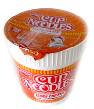 "Nissin Cup Noodles - Nissin Cup Noodles would probably one of the good things that I enjoy (^_^ ) Convenient and easy to prepare.. as long as I have hot water that is... (^_^"")"